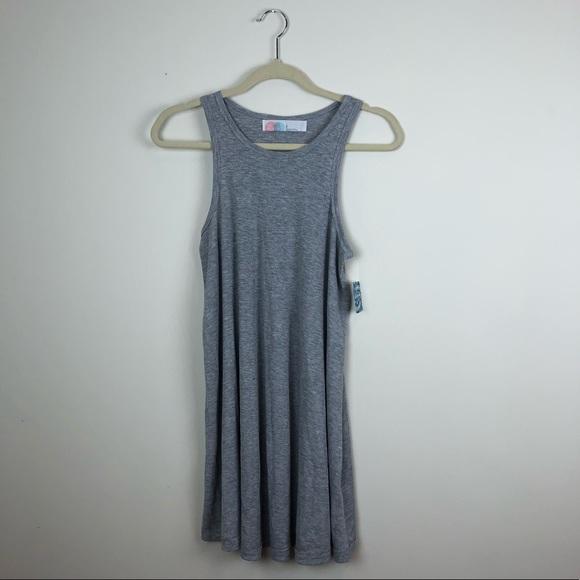 db668c63c245 Free People Dresses | La Nite Mini Dress Ribbed Tank Small | Poshmark
